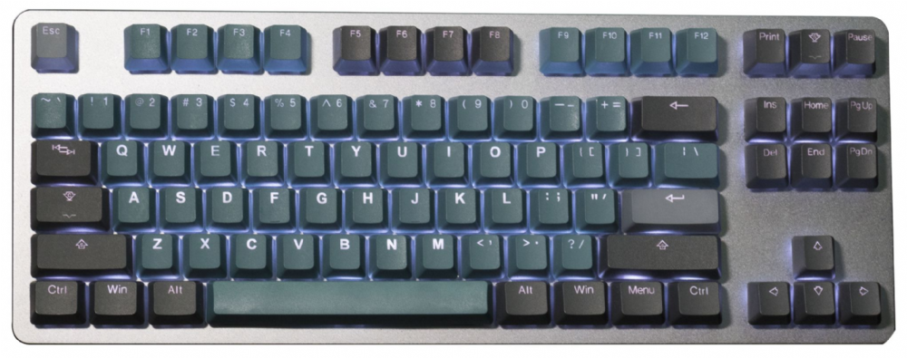 Tai-Hao PBT Backlit Double Shot Forest Deep Green 140 Keycap Set